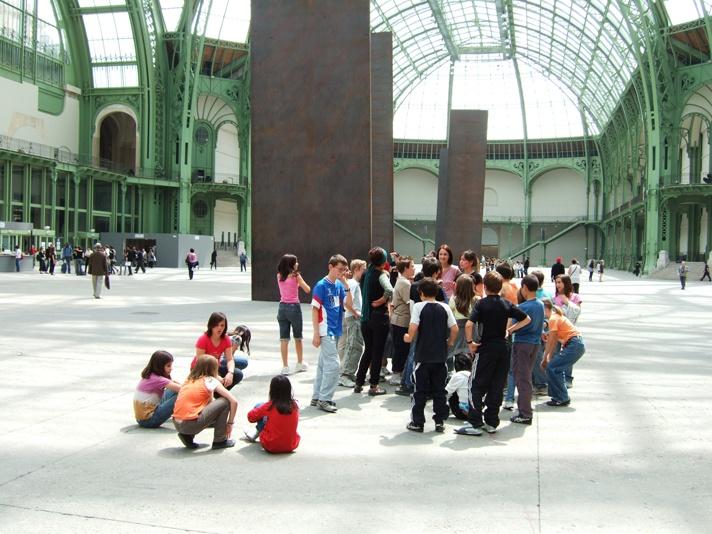 Atelier danse – Richard Serra – monumenta 2008